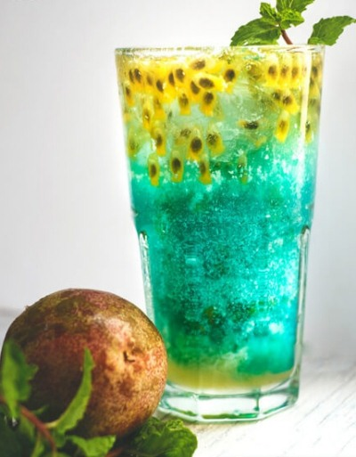 hình mocktail deep blue sea